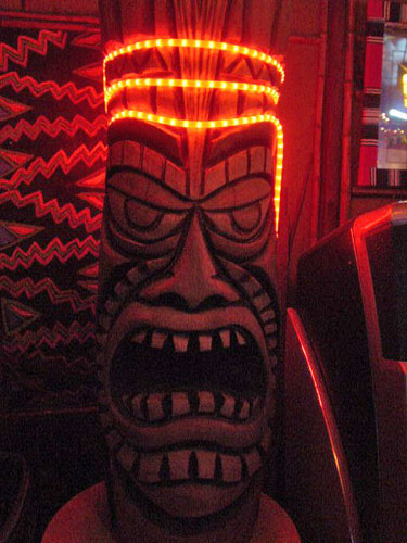 Tiki God at Bikini Lounge