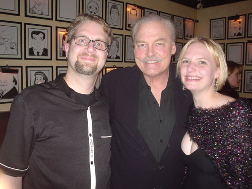 Fuzzy, Stacy Keach, and Erica