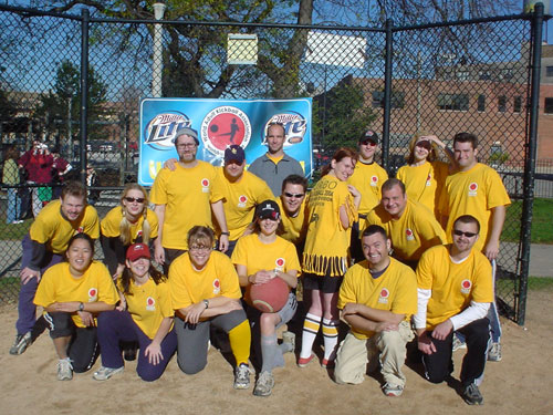 James Brown Celebrity Hot Tub Party - Kickball (near) Champions