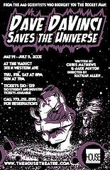Dave DaVinci Saves the Universe