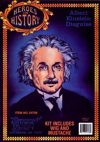 Albert Einstein Disguise
