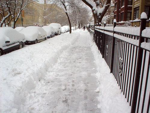 Shoveled Walk