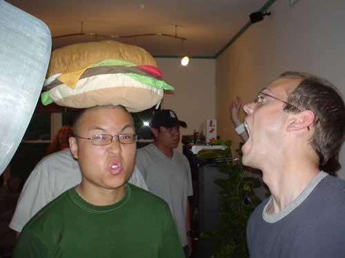 Jin burger head