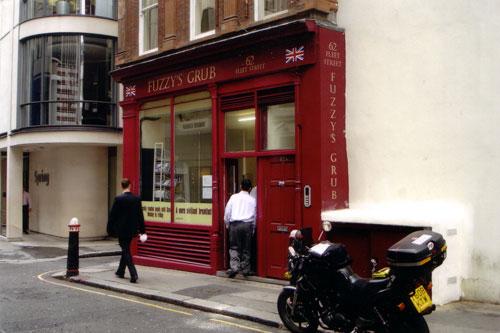 Fuzzy's Grub, London