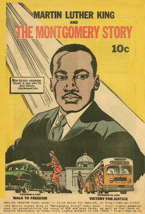 Martin Luther King comic