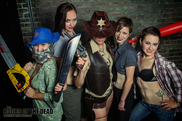 Boobs of the Dead - Heroes