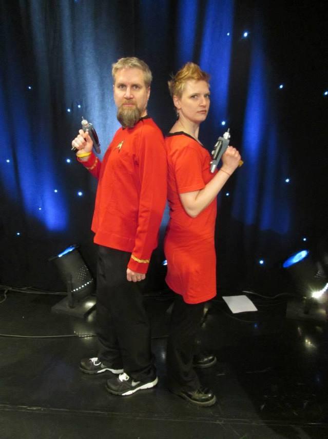 Team Gerdes Red Shirts
