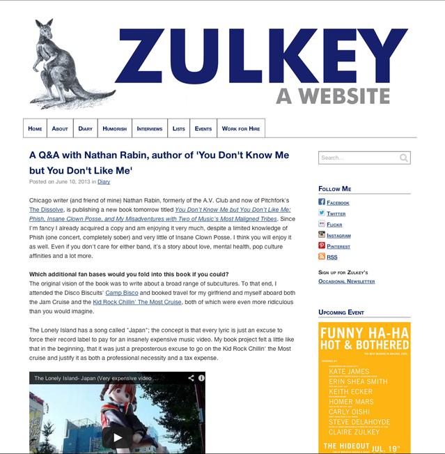 Zulkey.com - new site