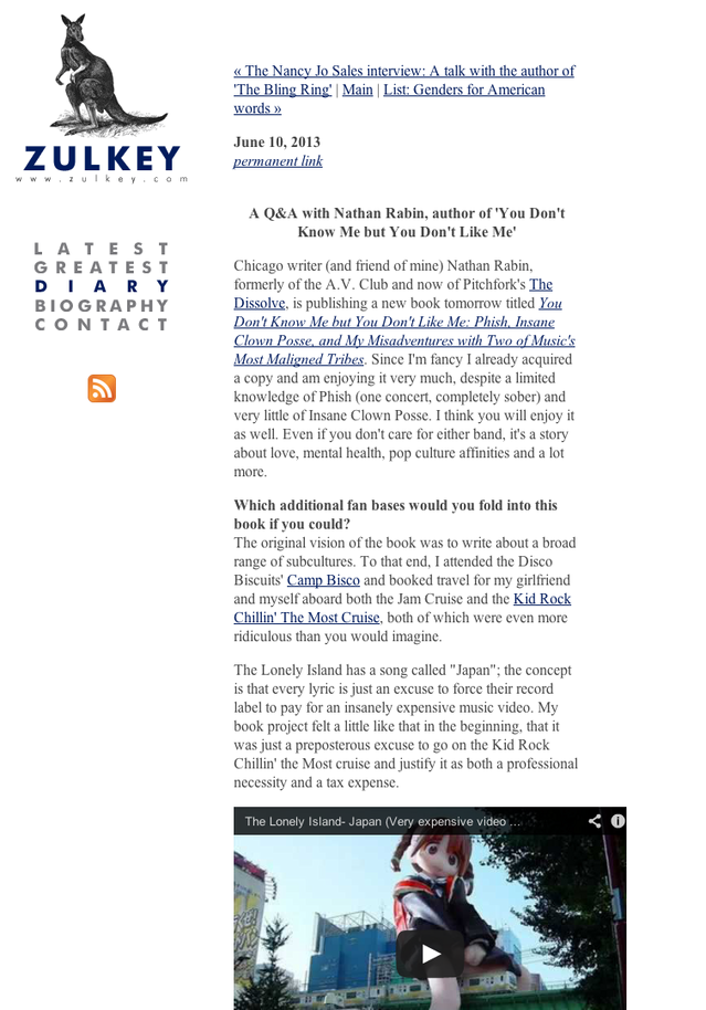 Zulkey.com - old site