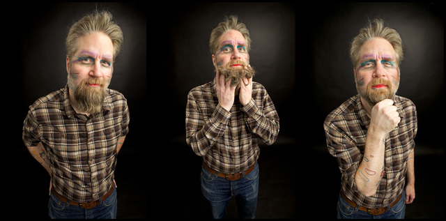 Fuzzy Gerdes in Bad Make Up by Greg Inda