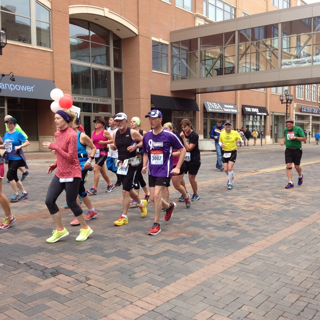 Fuzzy and the 5:30 pace group