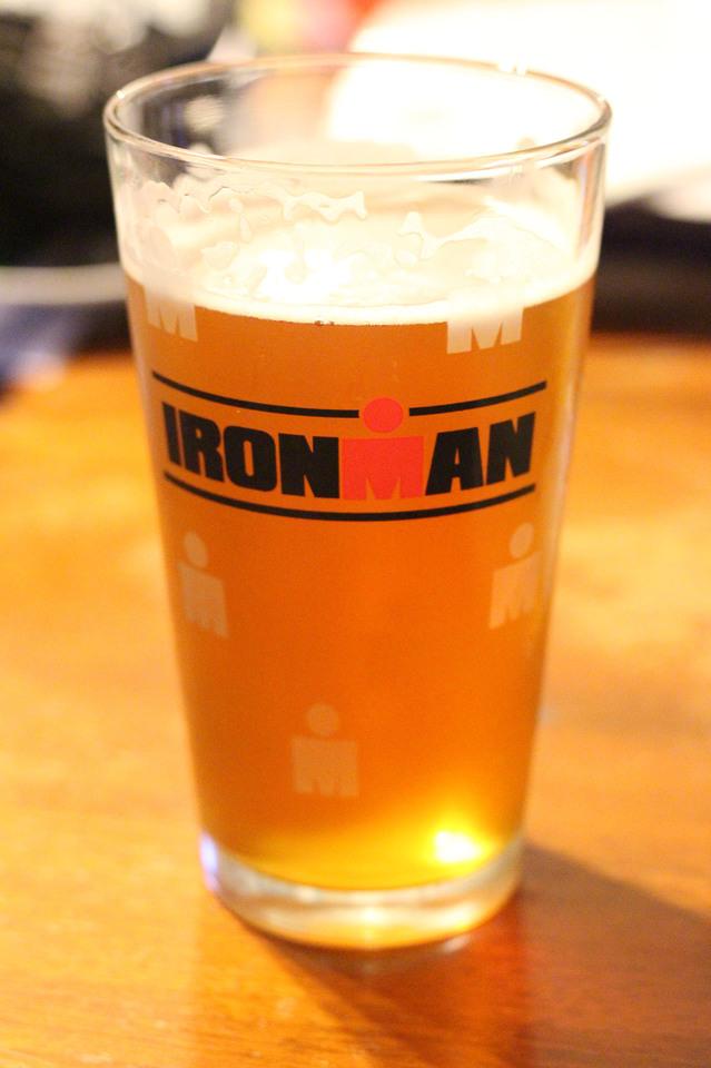 Ironman Pint Glass
