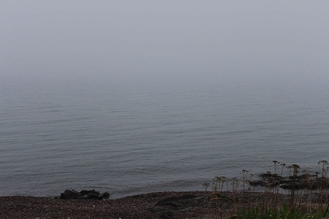 Lake Superior in the fog