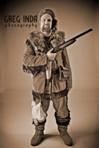 Fuzzy as Mountain Man by Greg Inda