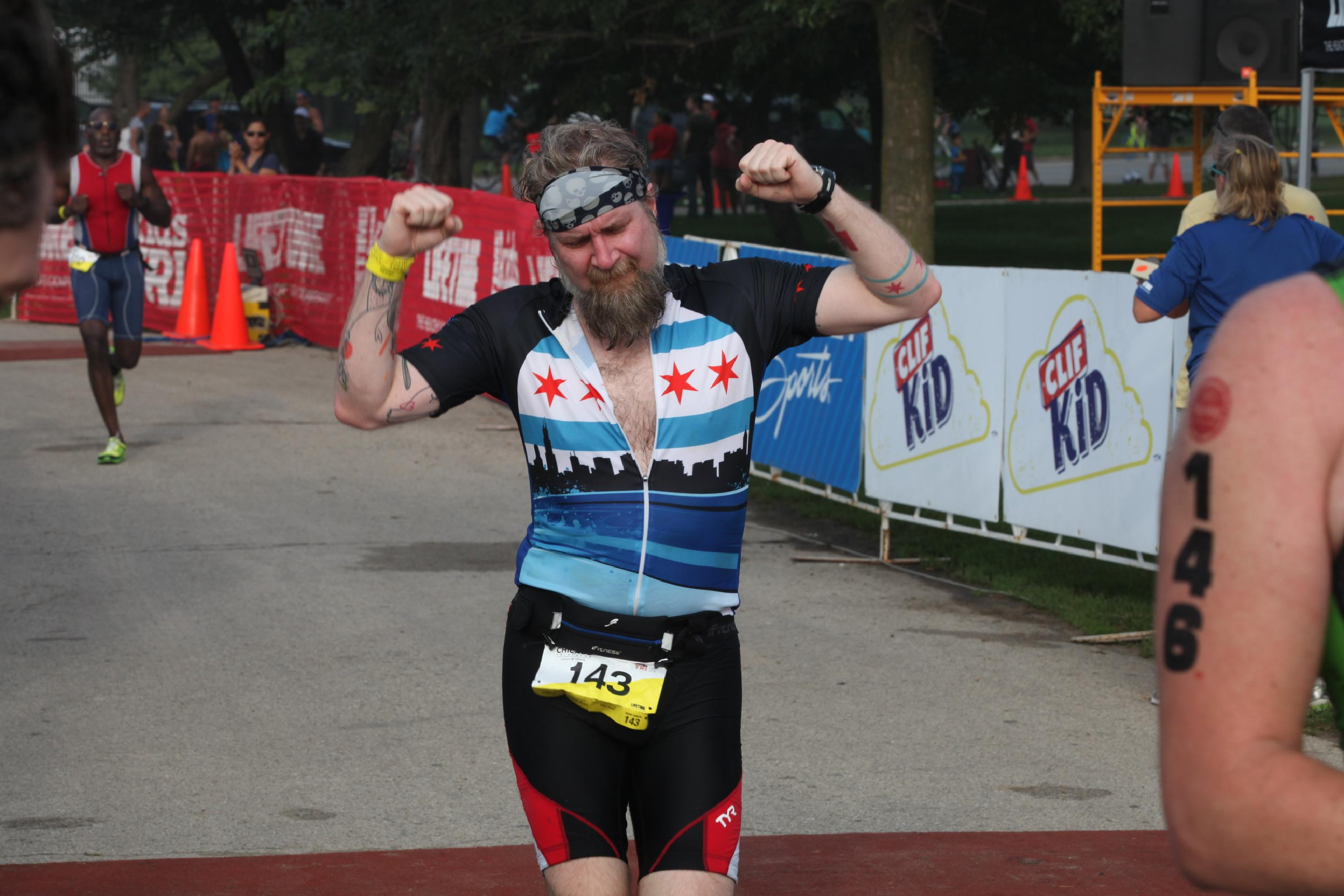 Chicago Triathlon Supersprint Run