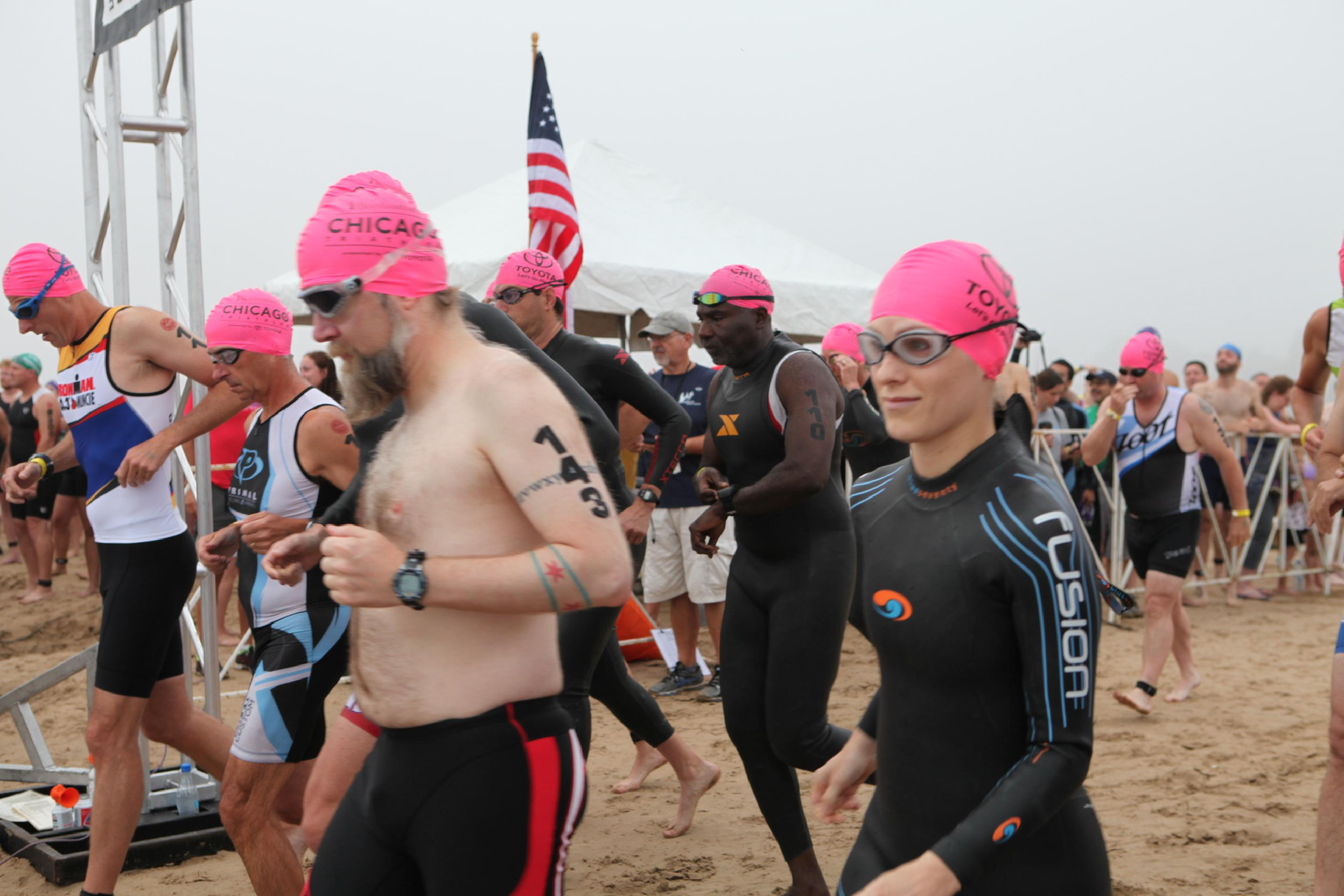 Chicago Triathlon 2014 Supersprint Swim