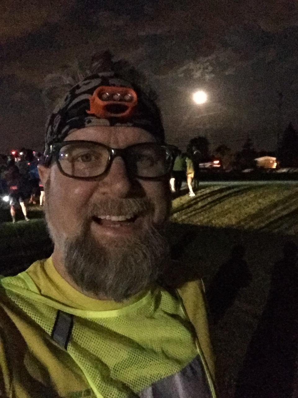 Ragnar - ready for a night run