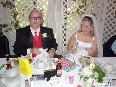 Dan Izzo and Trish Conlon's wedding