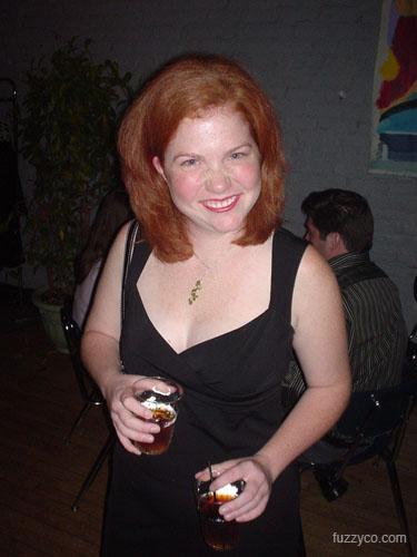 Becca at Kick Ball Party