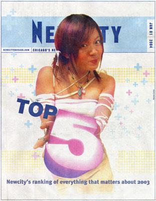 Nina Metz' Top 5