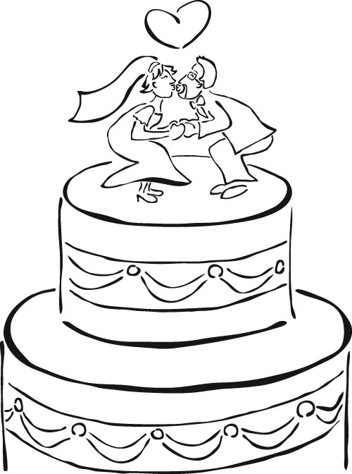Wedding Coloring Book